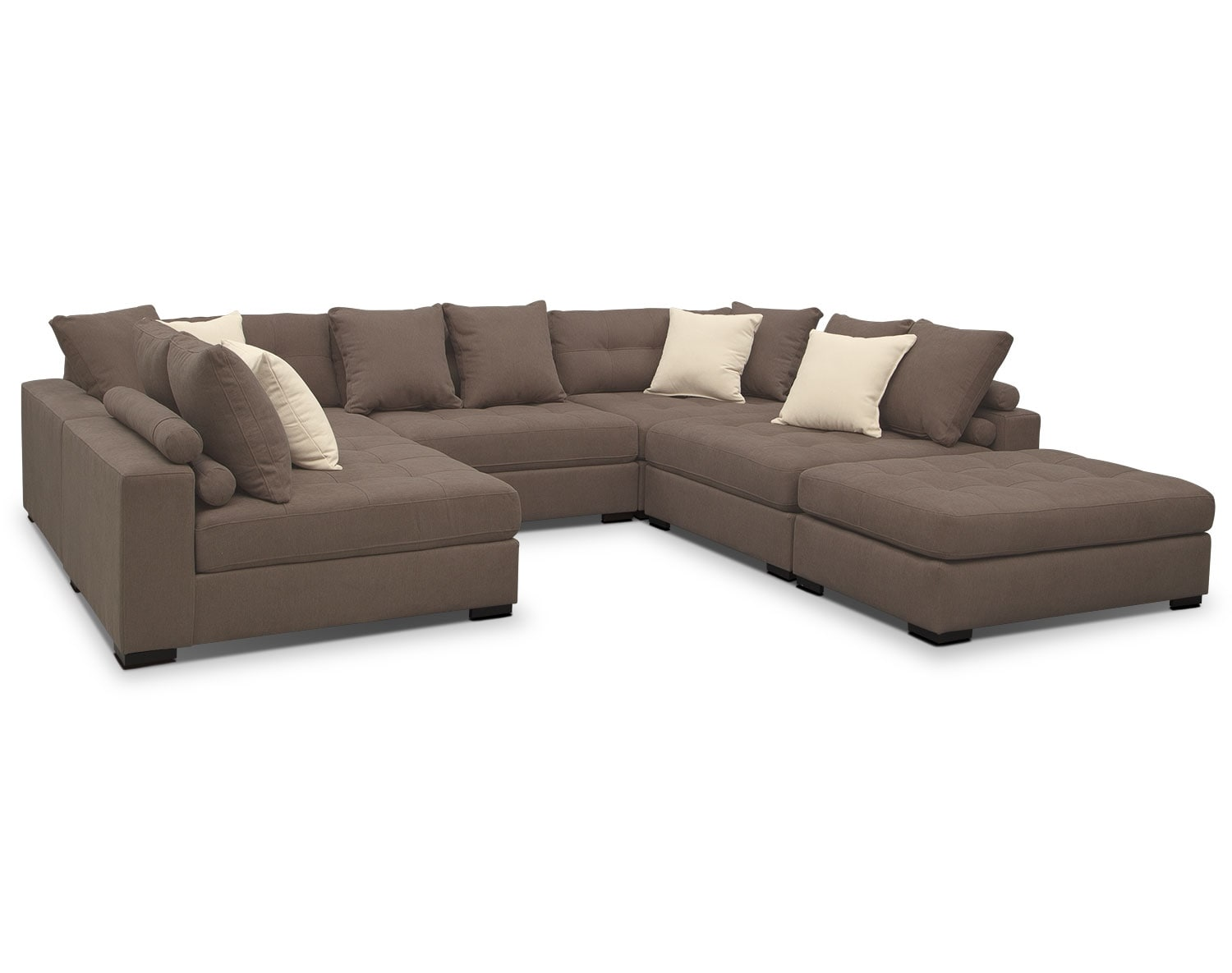 [The Venti Mocha Sectional Collection]
