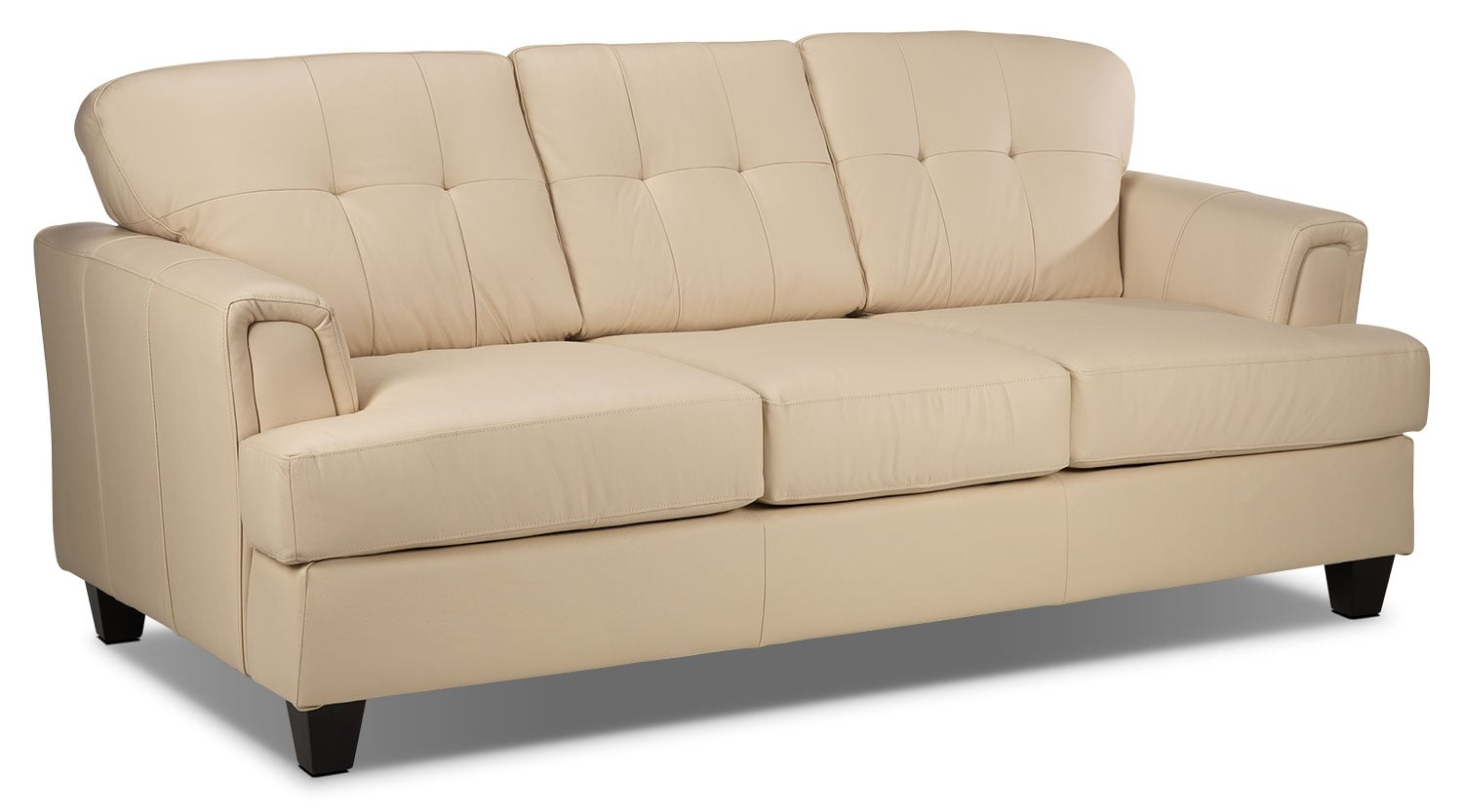 Living Room Furniture - Spencer Sofa - Light Beige