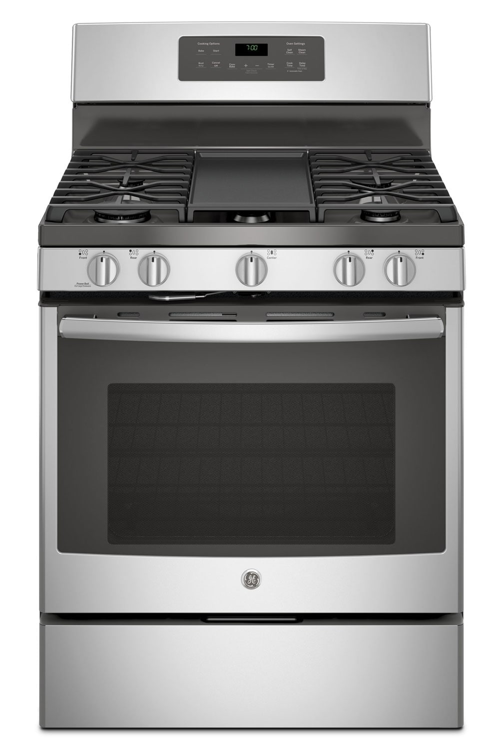 GE 5.0 Cu. Ft. Freestanding Convection Gas Range with Self Clean - JCGB700SEJSS