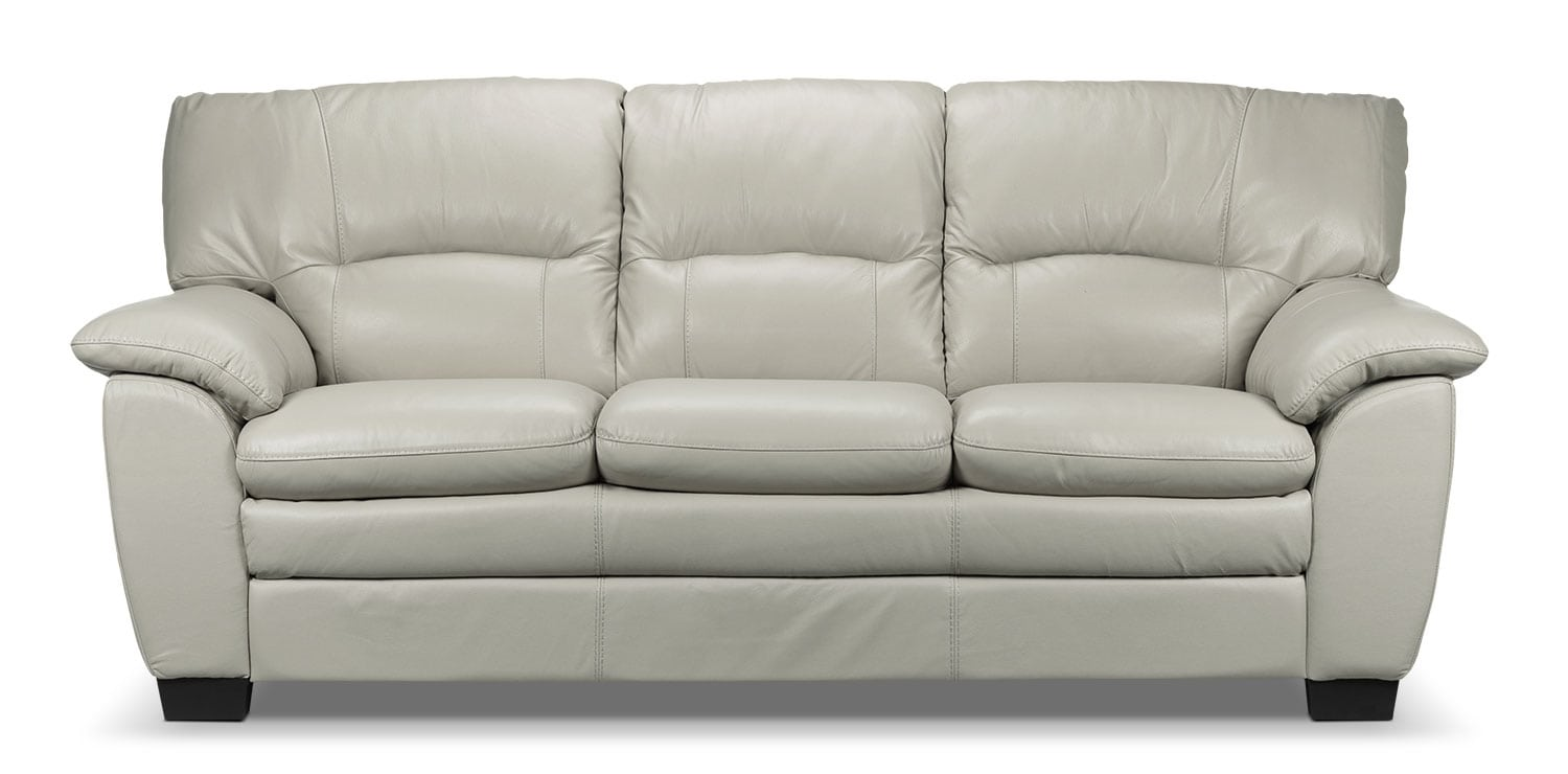 Living Room Furniture - Rodero Sofa - Grey
