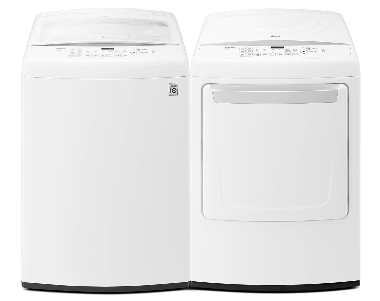 LG Laundry - WT1501CW / DLE1501W / DLG1502W