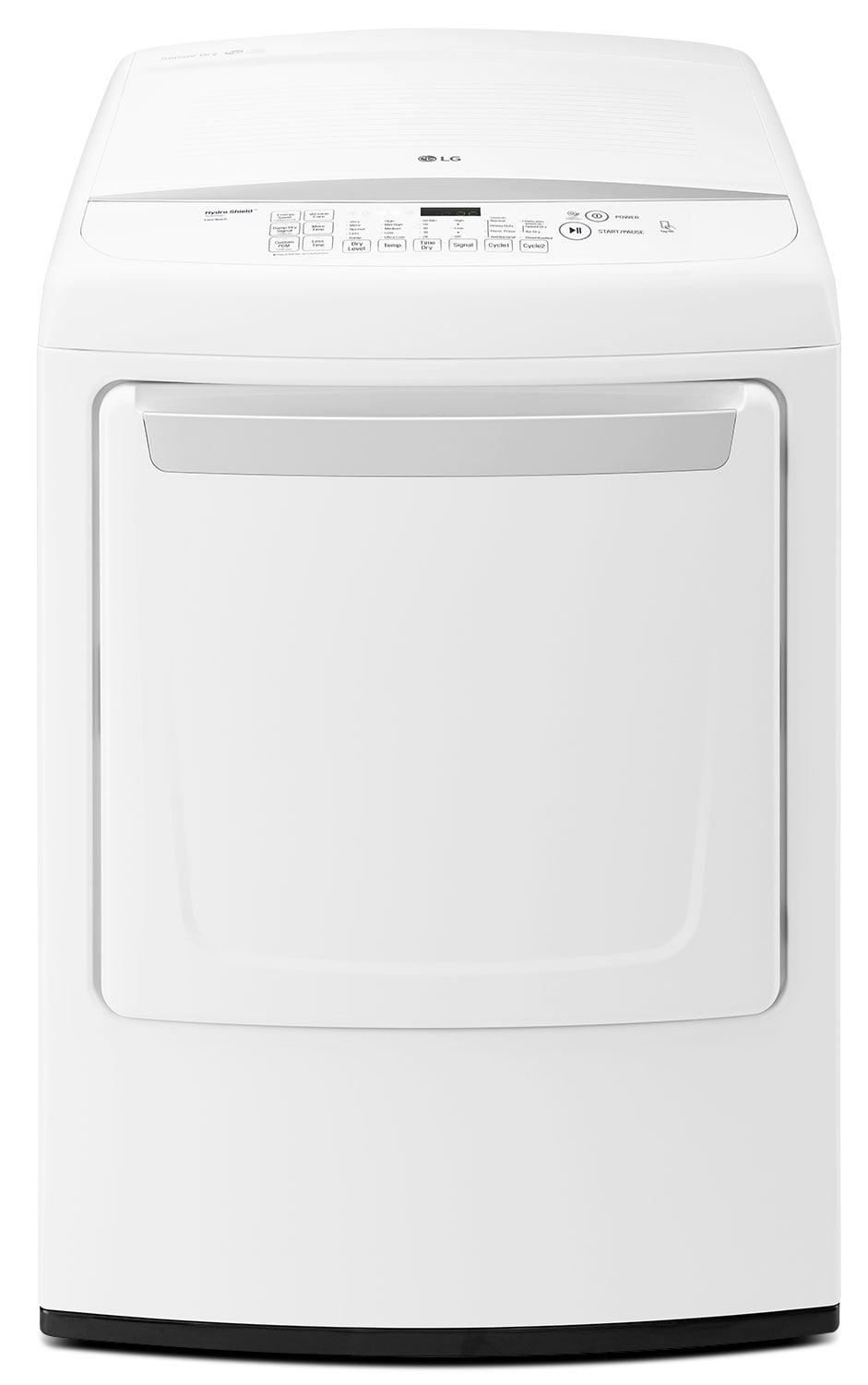LG Appliances White Electric Dryer (7.3 Cu. Ft.) - DLE1501W
