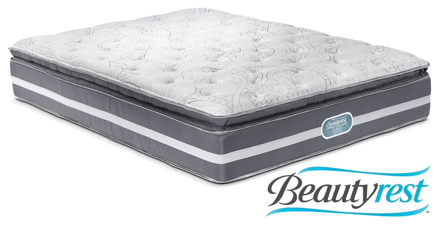Mattresses and Bedding - Simmons Paradise Plush Queen Mattress