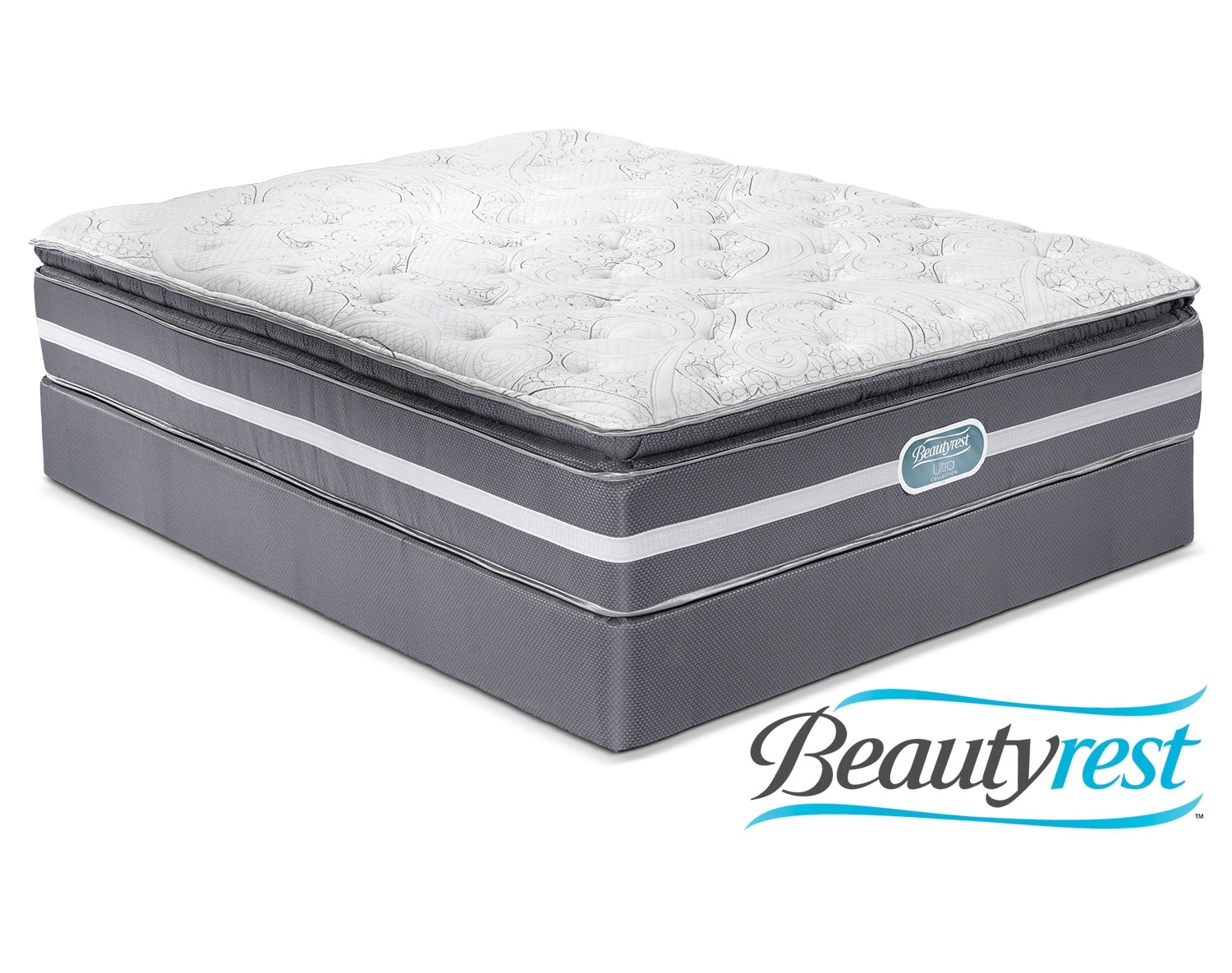 The Simmons Paradise Plush Mattress Collection