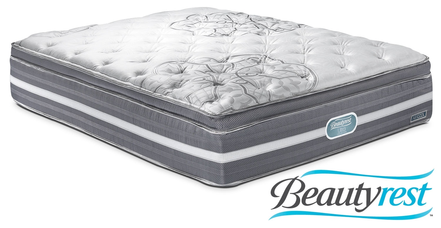 Mattresses and Bedding - Simmons Grand Luxe Plush Queen Mattress