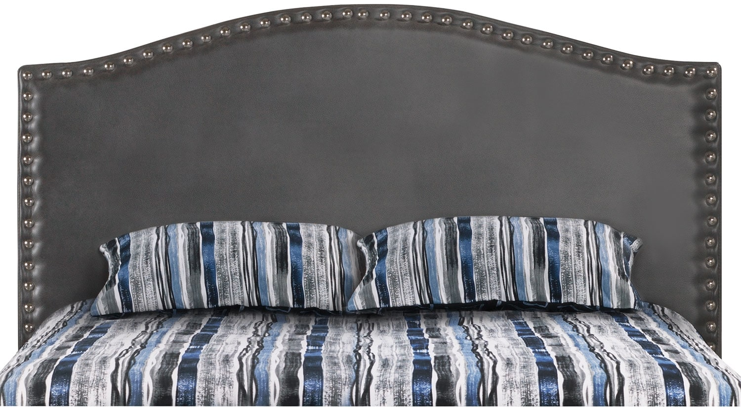 Benjamin Queen Headboard – Aged Grey