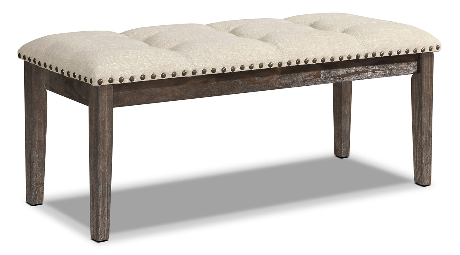 Aldo dining bench the brick for Dining table with bench