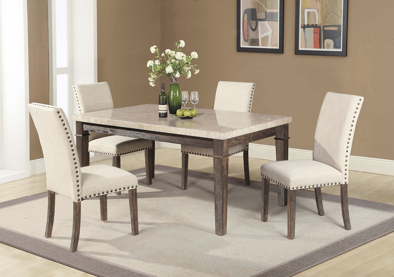 Aldo 5-Piece Dining Package
