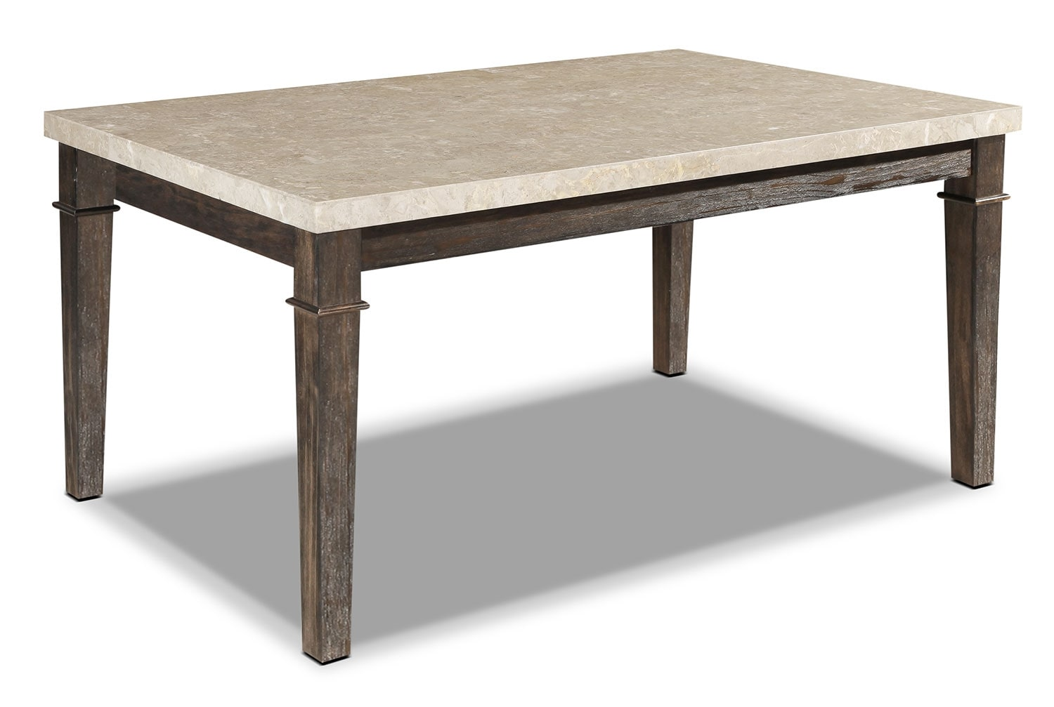 Aldo dining table the brick - Table de cuisine ancienne ...