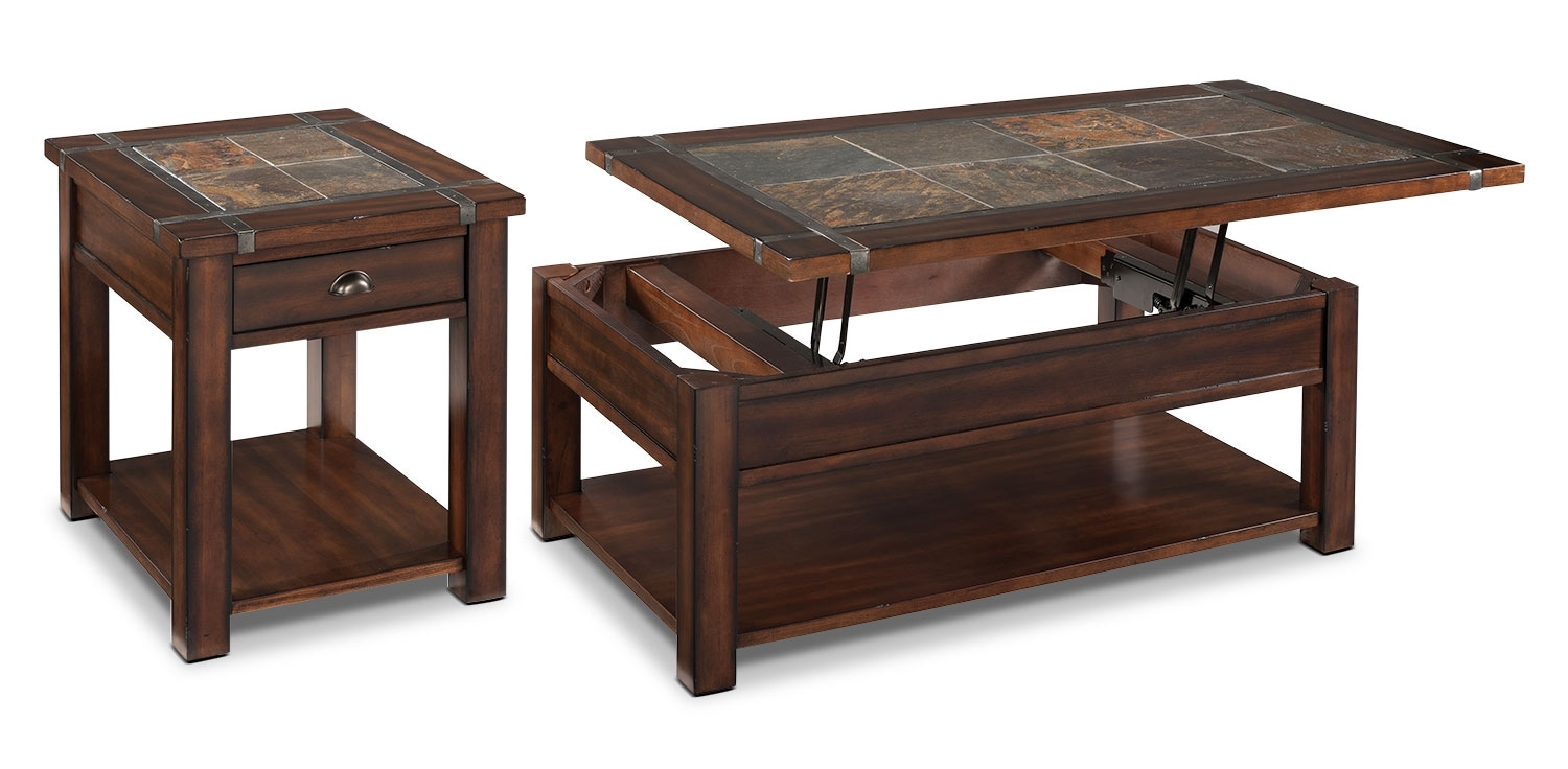 Roanoke 2-Piece Coffee and End Table Package