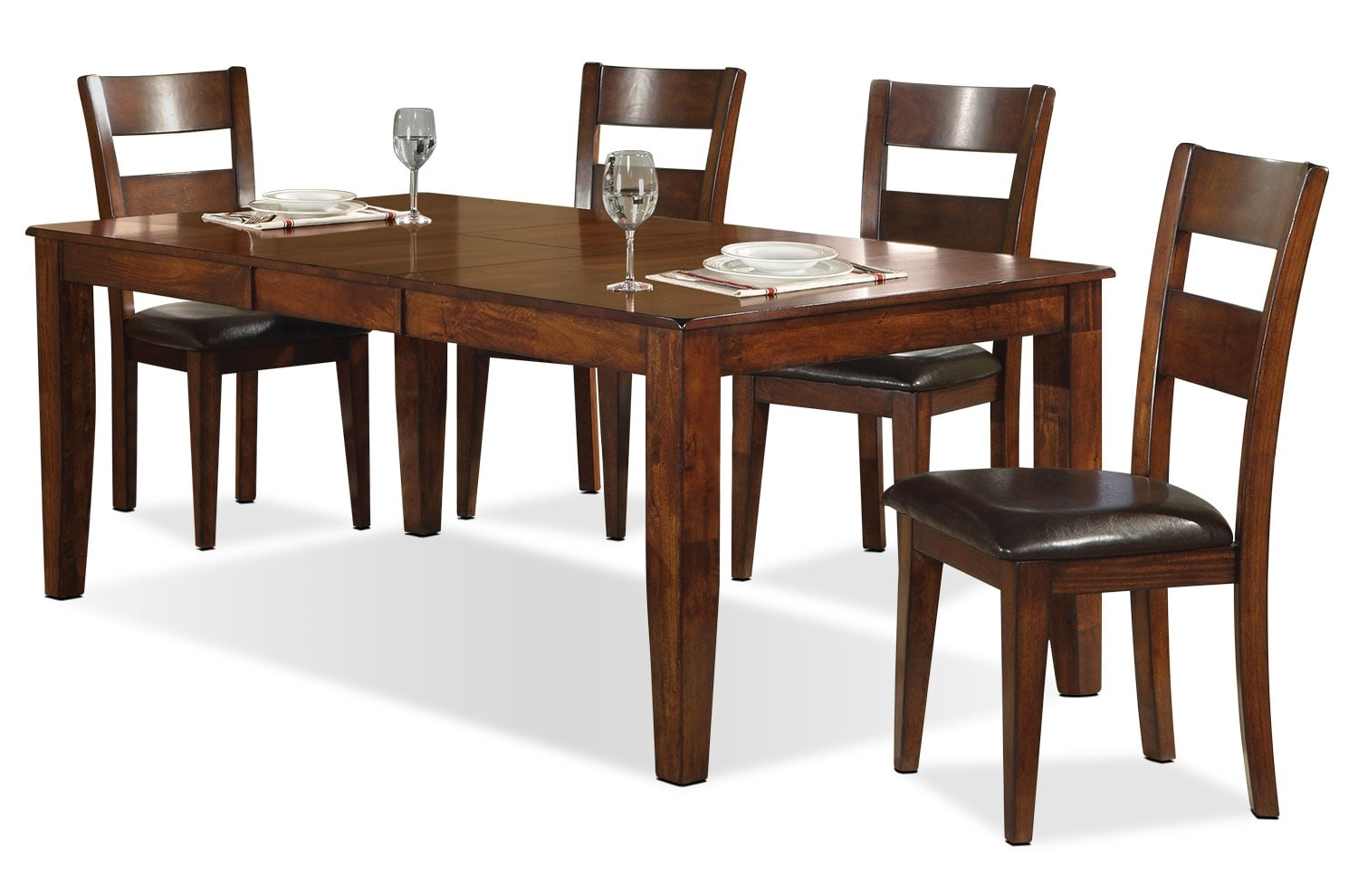 Dakota Light 5-Piece Dining Package