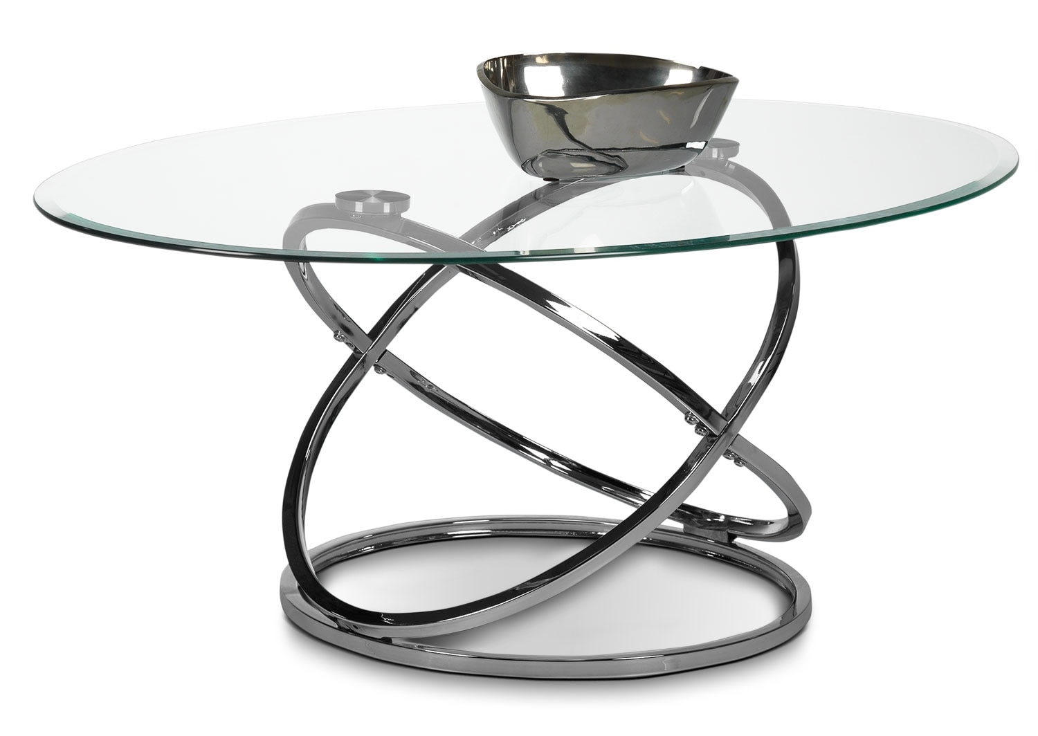 Accent and Occasional Furniture - Axis Coffee Table - Chrome