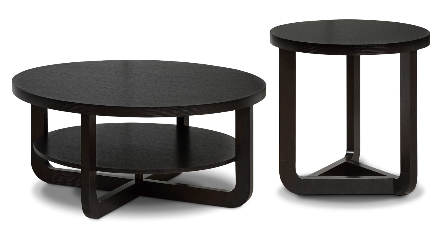 Accent and Occasional Furniture - Windsor 2-Piece Coffee and End Table Package