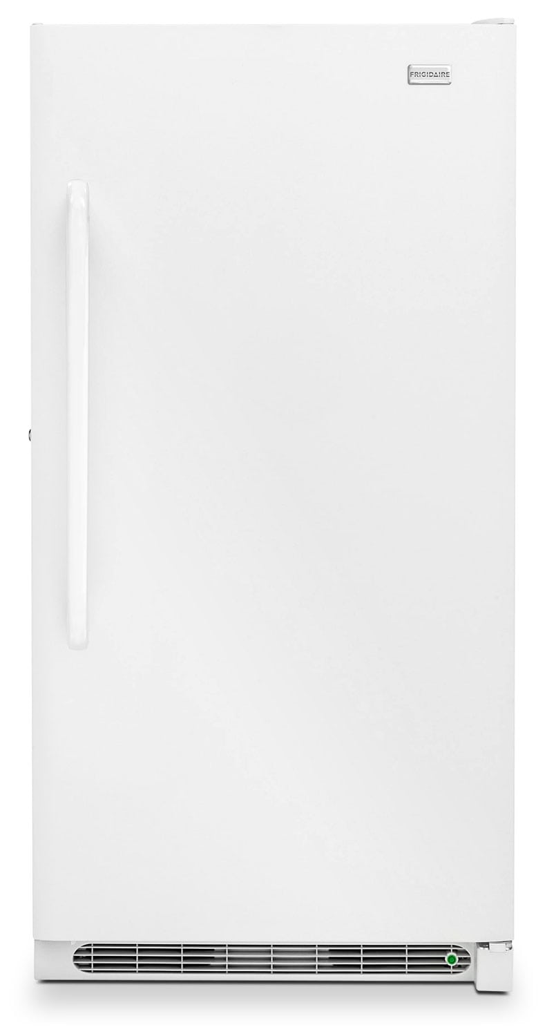 Refrigerators and Freezers - Frigidaire White Upright Freezer (16.6 Cu. Ft.) - FFFH17F4QW