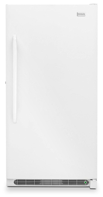 Refrigerators and Freezers - Frigidaire White Upright Freezer (16.6 Cu. Ft.) - FFFH17F4QW