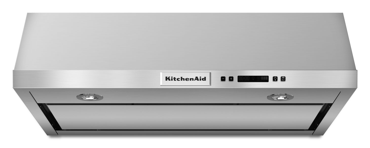 "KitchenAid 30"" Under-the-Cabinet 4-Speed Range Hood"