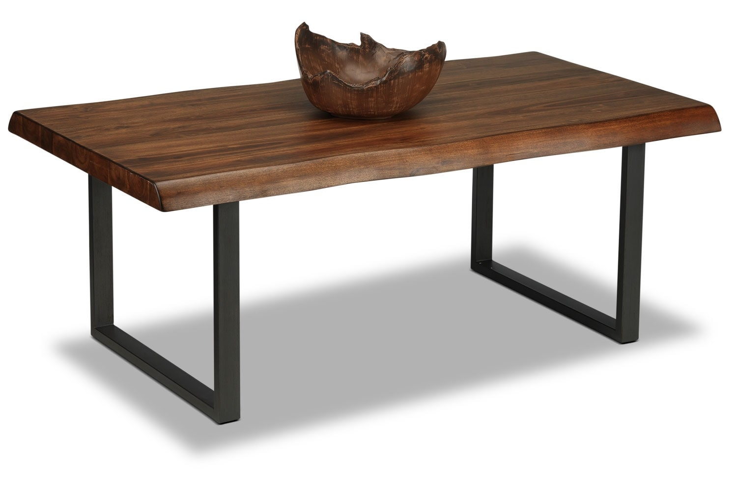natura coffee table  walnut  leon's - hover to zoom