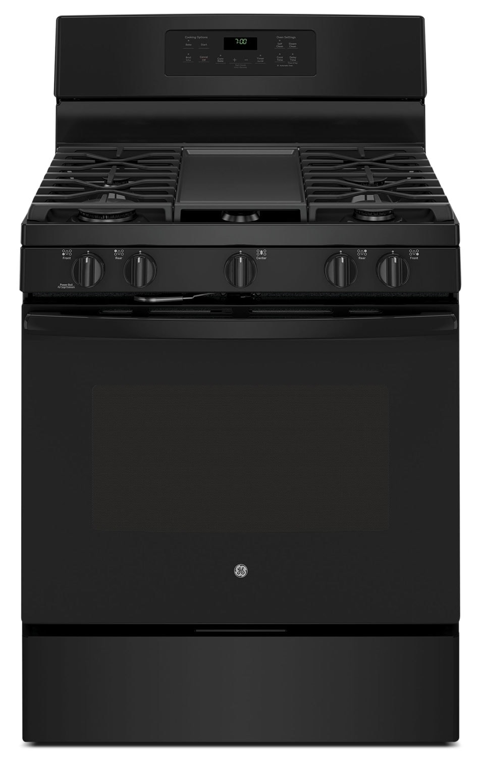 Cooking Products - GE 5.0 Cu. Ft. Freestanding Gas Range – JCGB700DEJBB