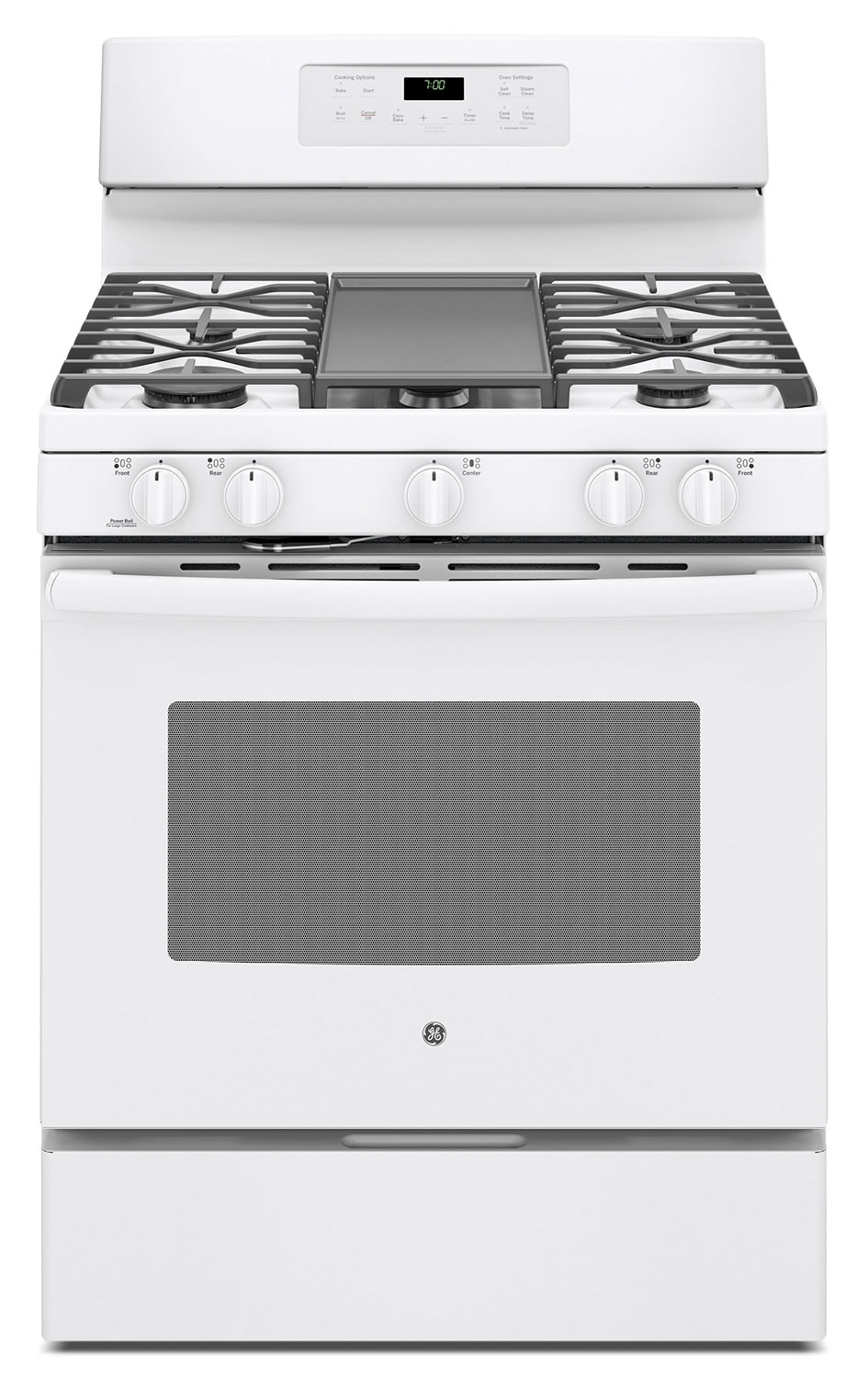 Cooking Products - GE 5.0 Cu. Ft. Freestanding Gas Range – JCGB700DEJWW