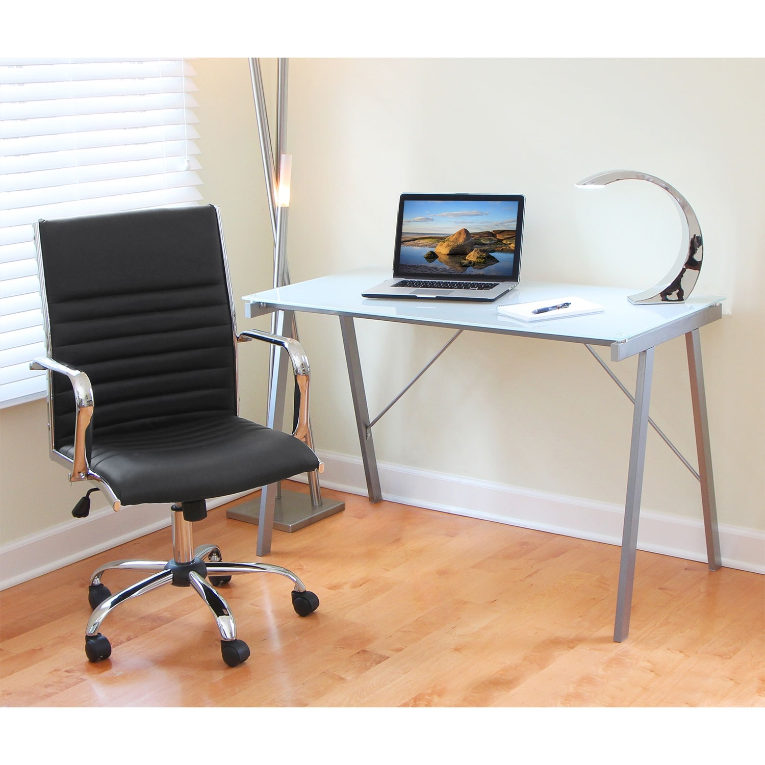 Director office arm chair black value city furniture - Value city office desk ...