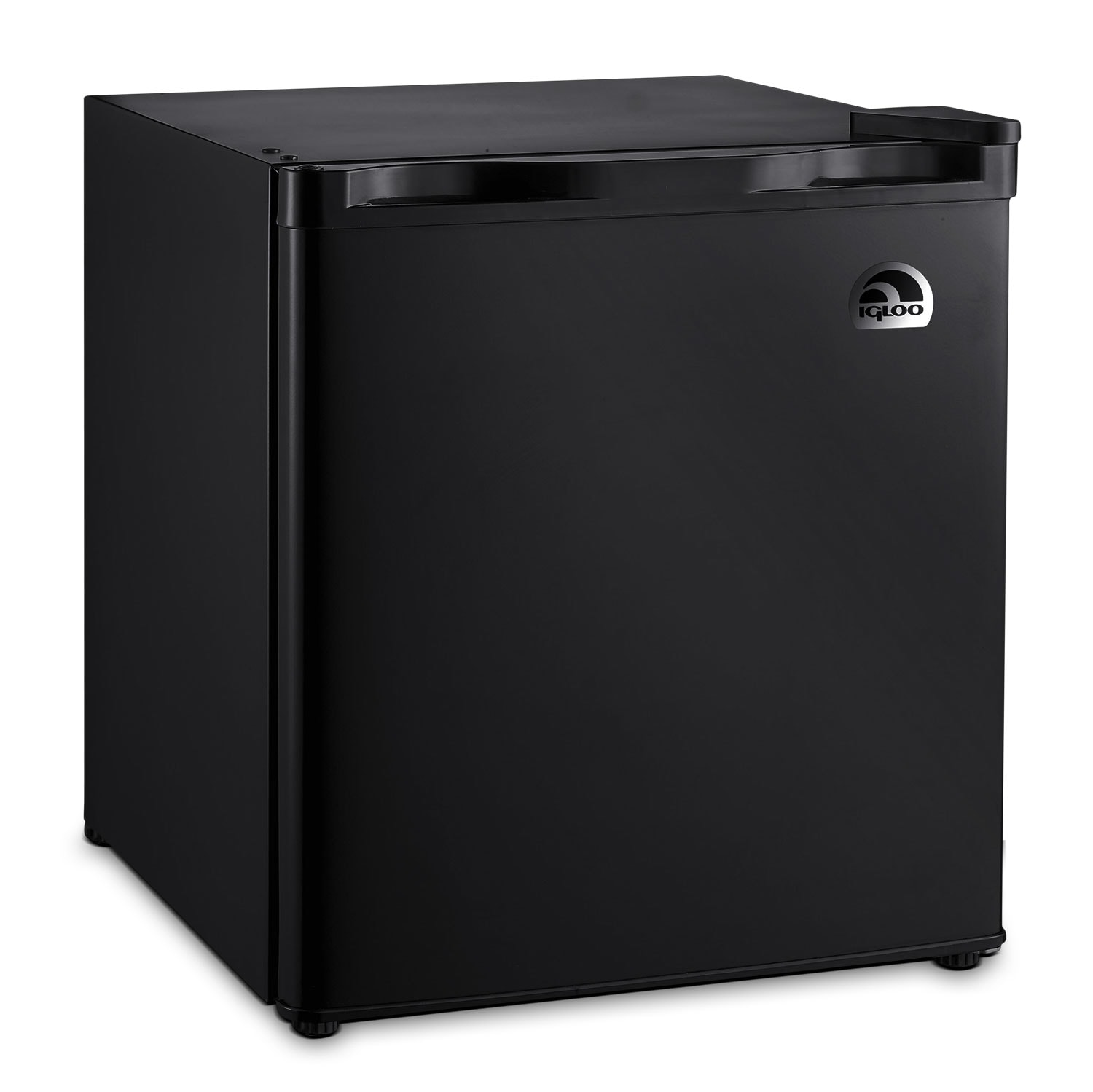 Refrigerators and Freezers - Igloo 1.6 Cu. Ft. Compact Refrigerator – Black