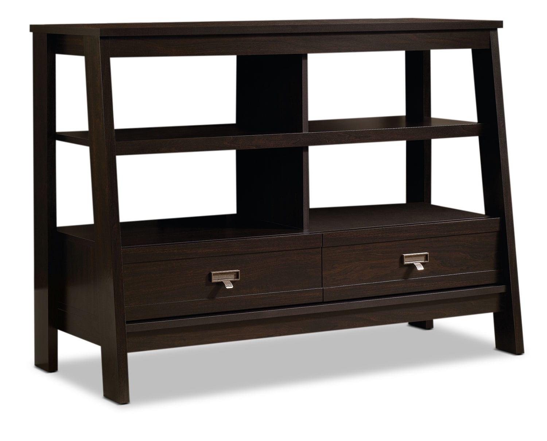 "Home Office Furniture - Stockbridge 45"" TV Stand - Jamocha Wood"
