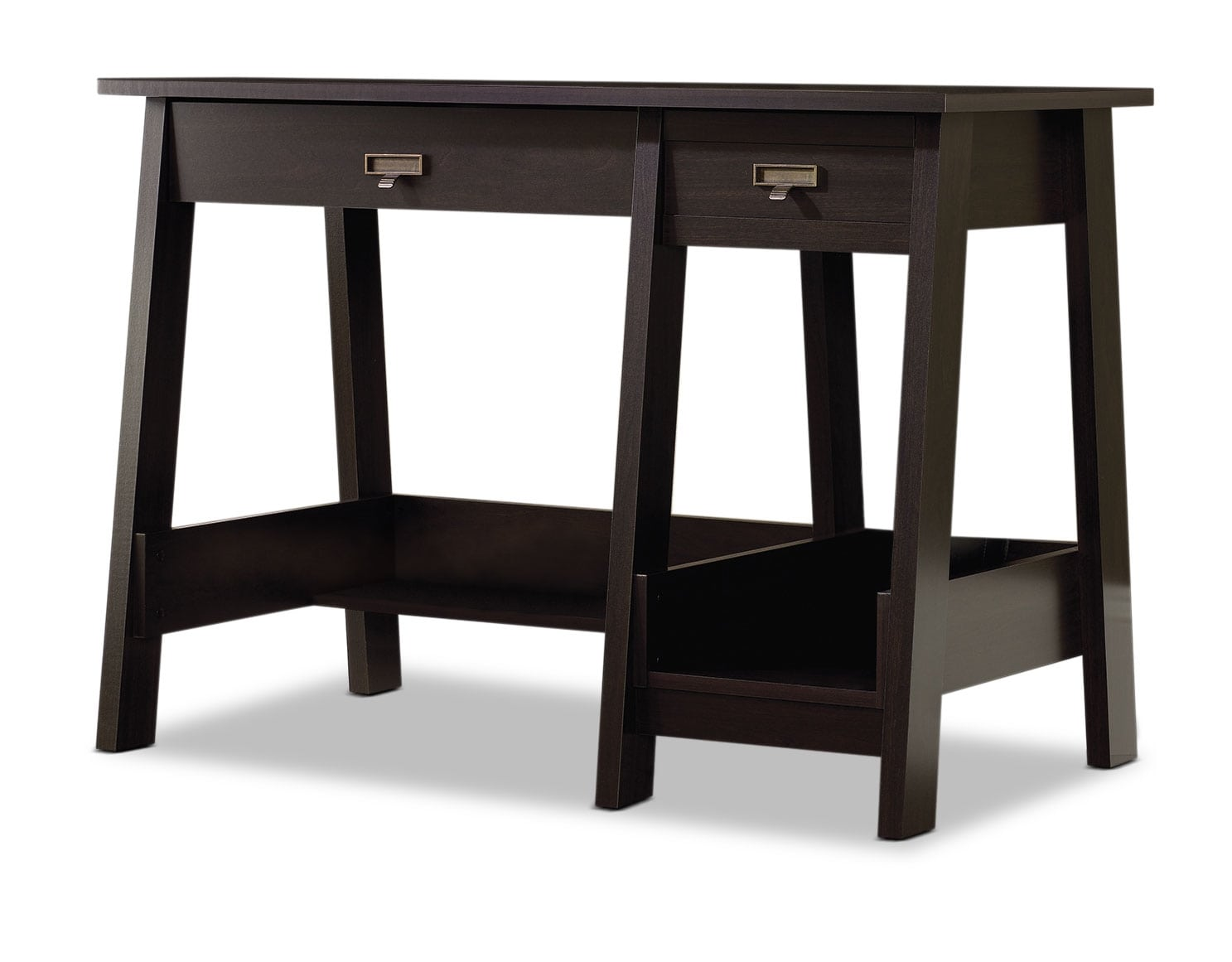 "Home Office Furniture - Stockbridge 43"" Desk - Jamocha Wood"