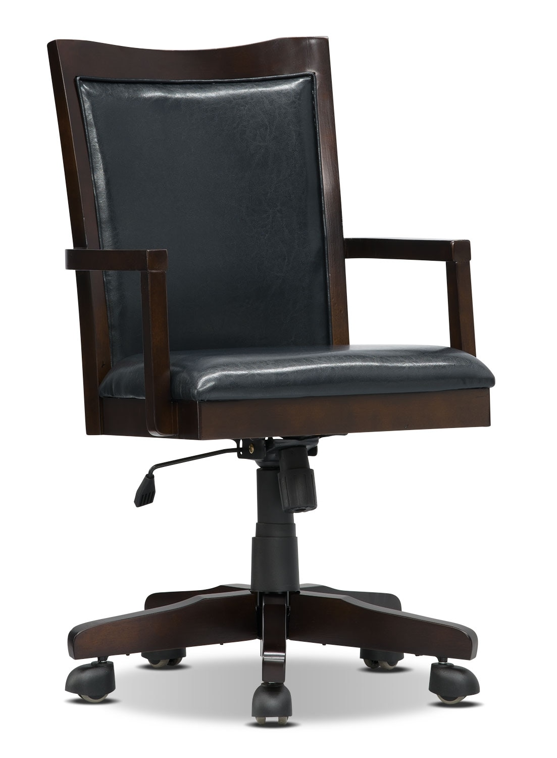 York Wood-Trim Office Chair