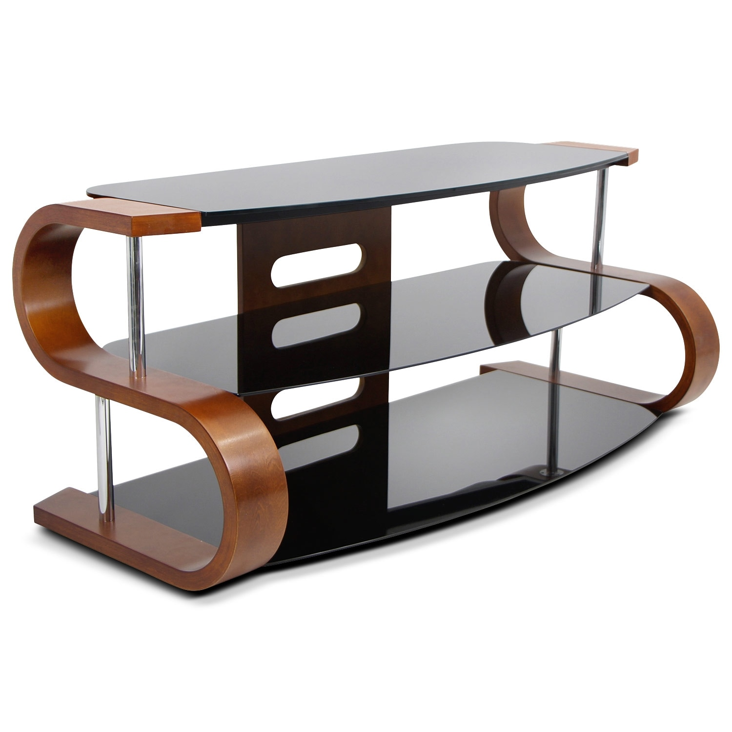Tv stands media centers storage cabinets american for Mueble tv esquina