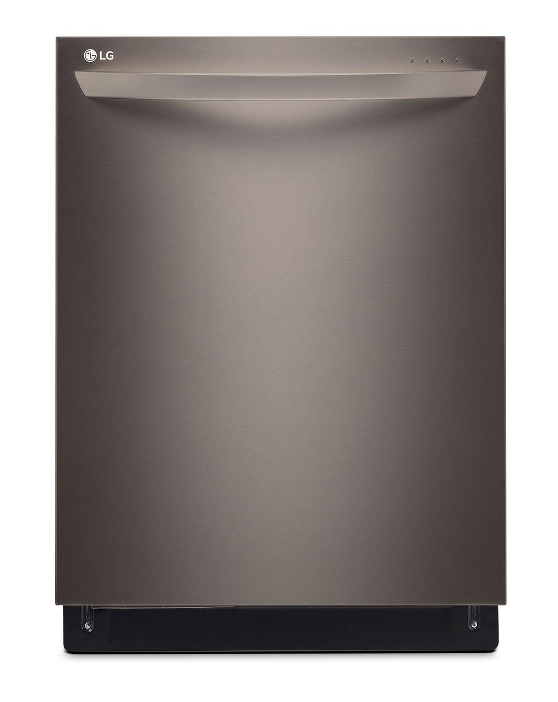 "[LG Appliances Black Stainless Steel 24"" Dishwasher - LDT9965BD]"