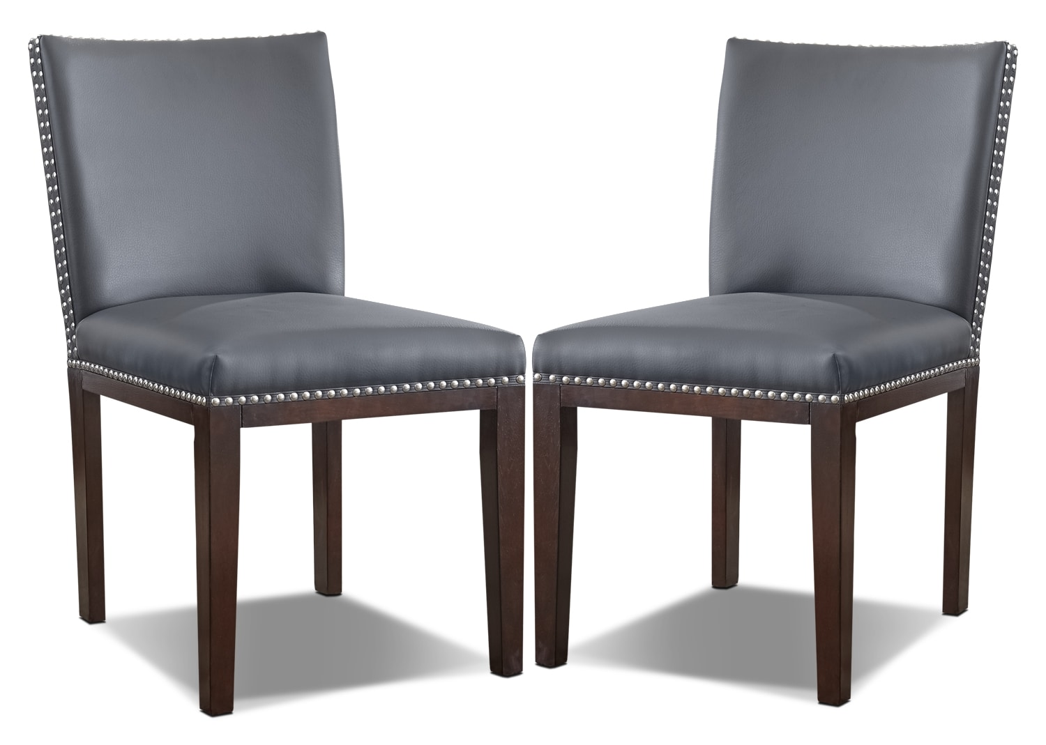 Dining Room Furniture - Tiffany Dining Chair, Set of 2 – Grey