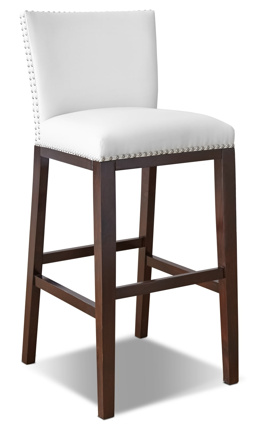 Dining Room Furniture - Tiffany Bar-Height Dining Chair – White