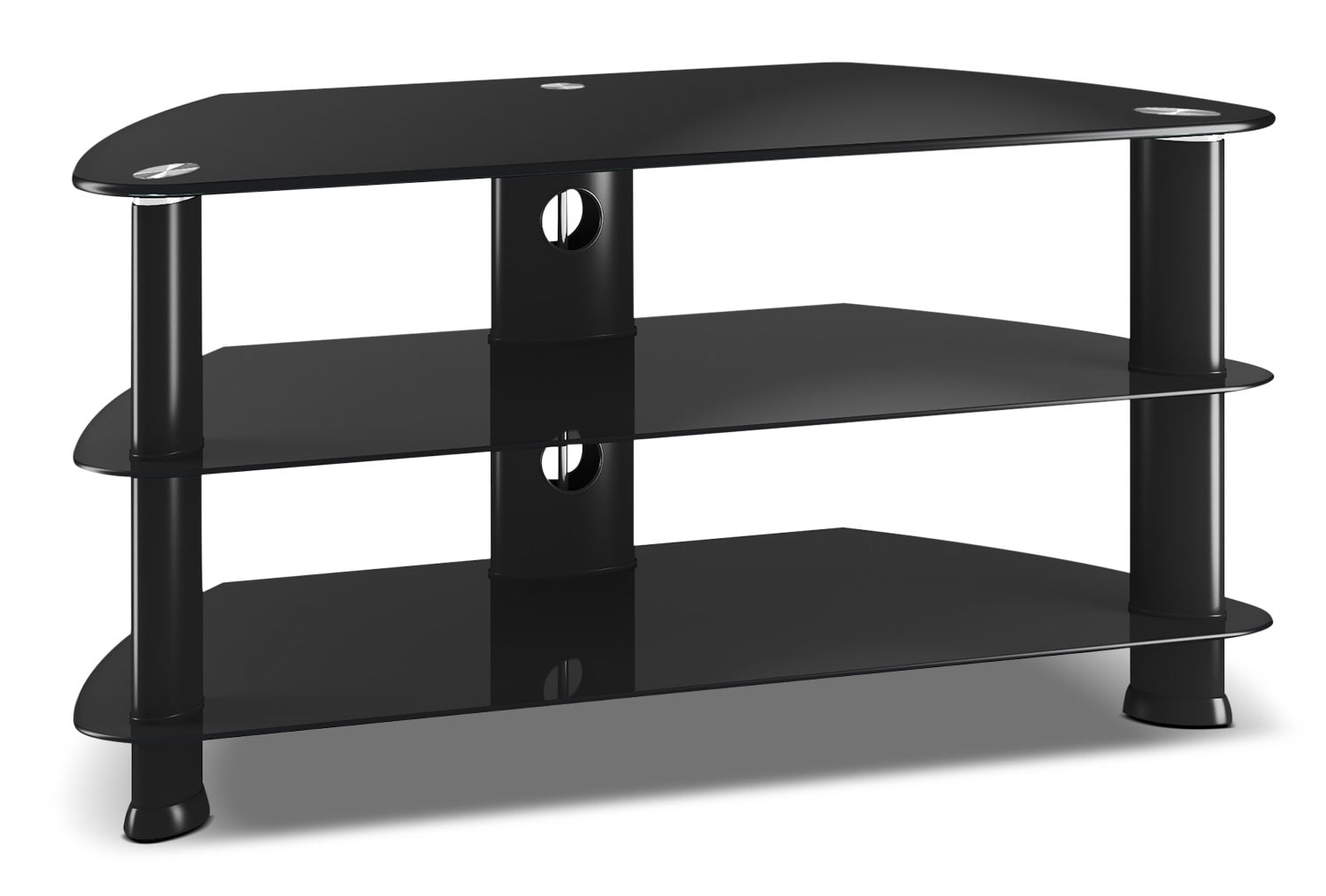 "Entertainment Furniture - Triton 40"" Corner TV Stand"