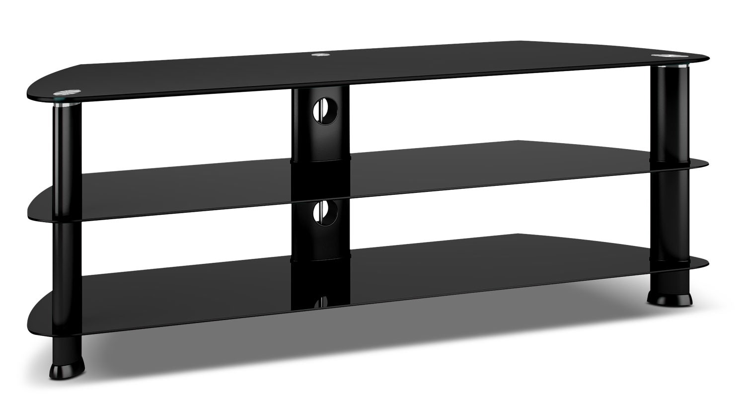 "Entertainment Furniture - Triton 55"" Corner TV Stand"