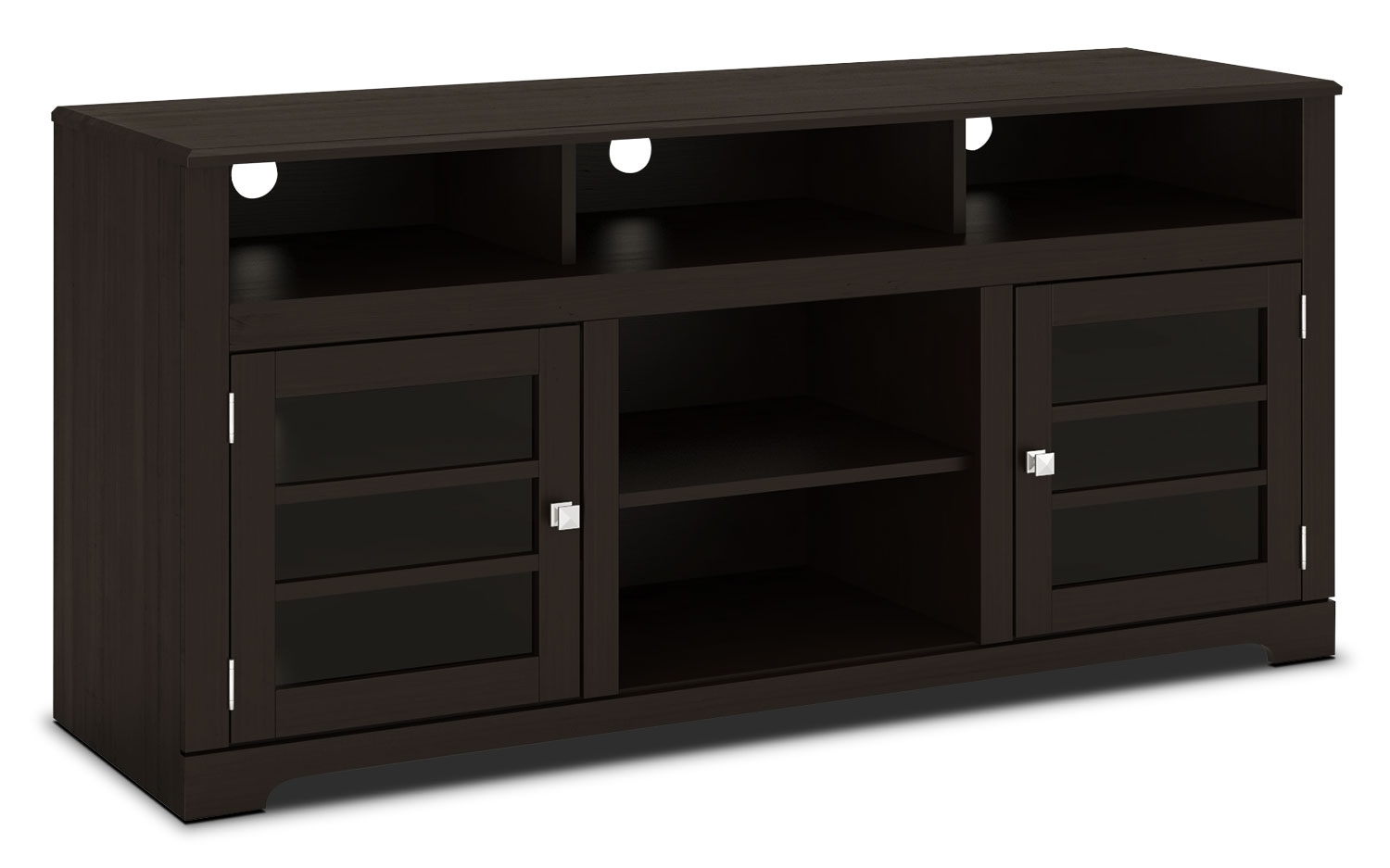 "Entertainment Furniture - West Lake 60"" TV Stand – Mocha Black"