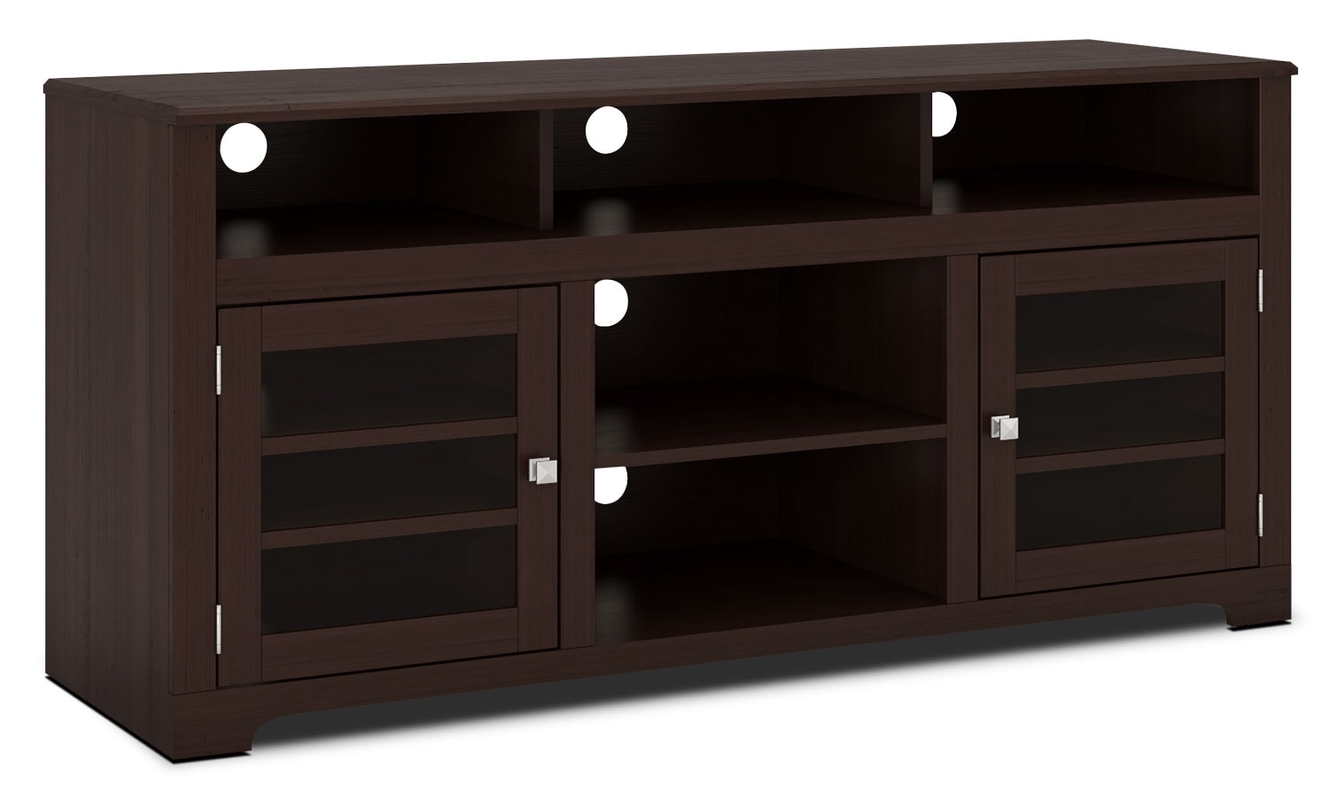 "Entertainment Furniture - West Lake 60"" TV Stand – Dark Espresso"