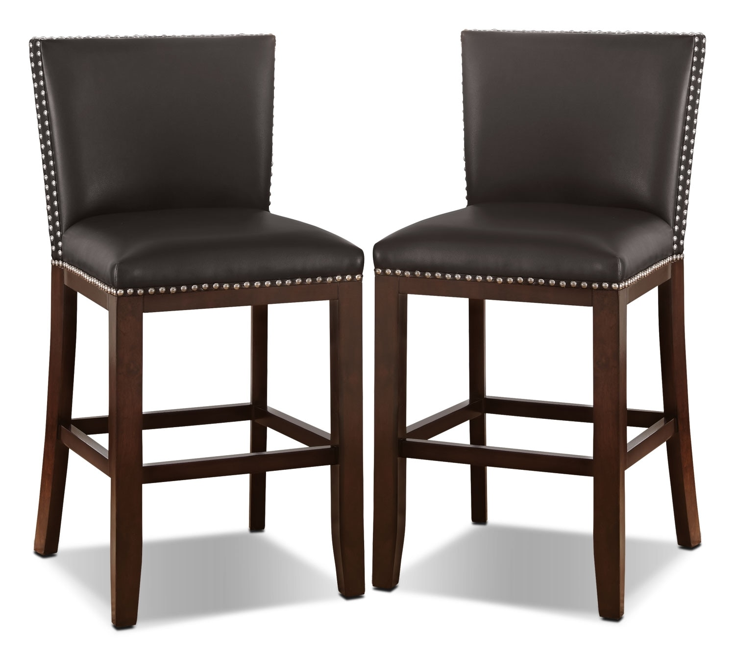 Dining Room Furniture - Tiffany Counter-Height Dining Chair, Set of 2 – Brown