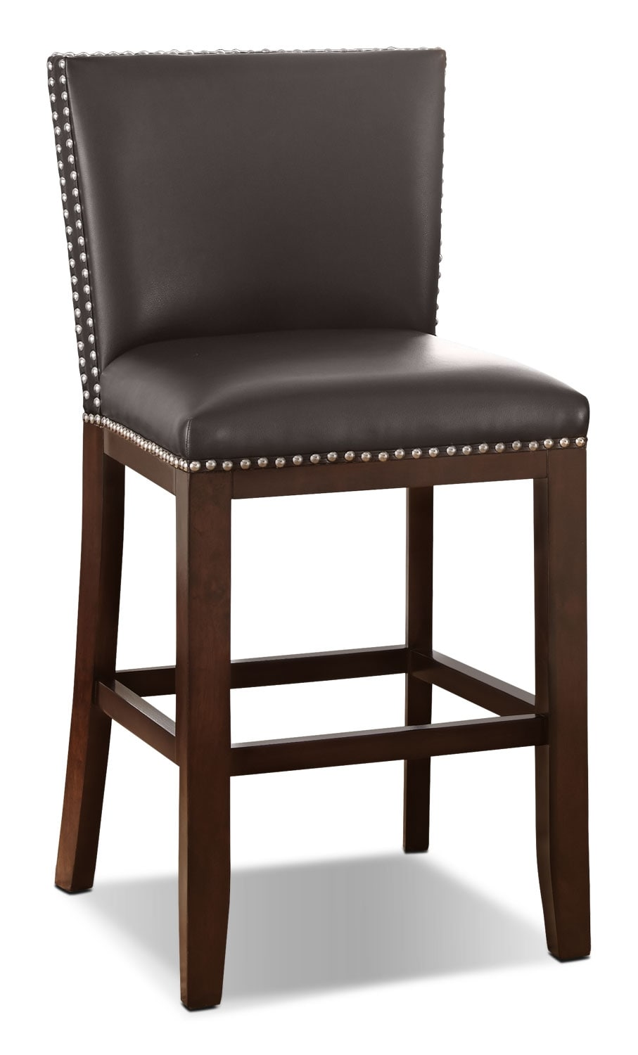 Dining Room Furniture - Tiffany Counter-Height Dining Chair – Brown