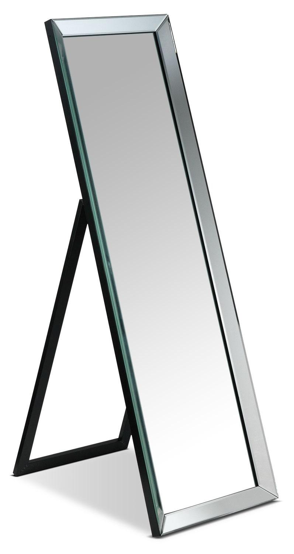 [Elizabeth Floor Mirror w/ Stand]
