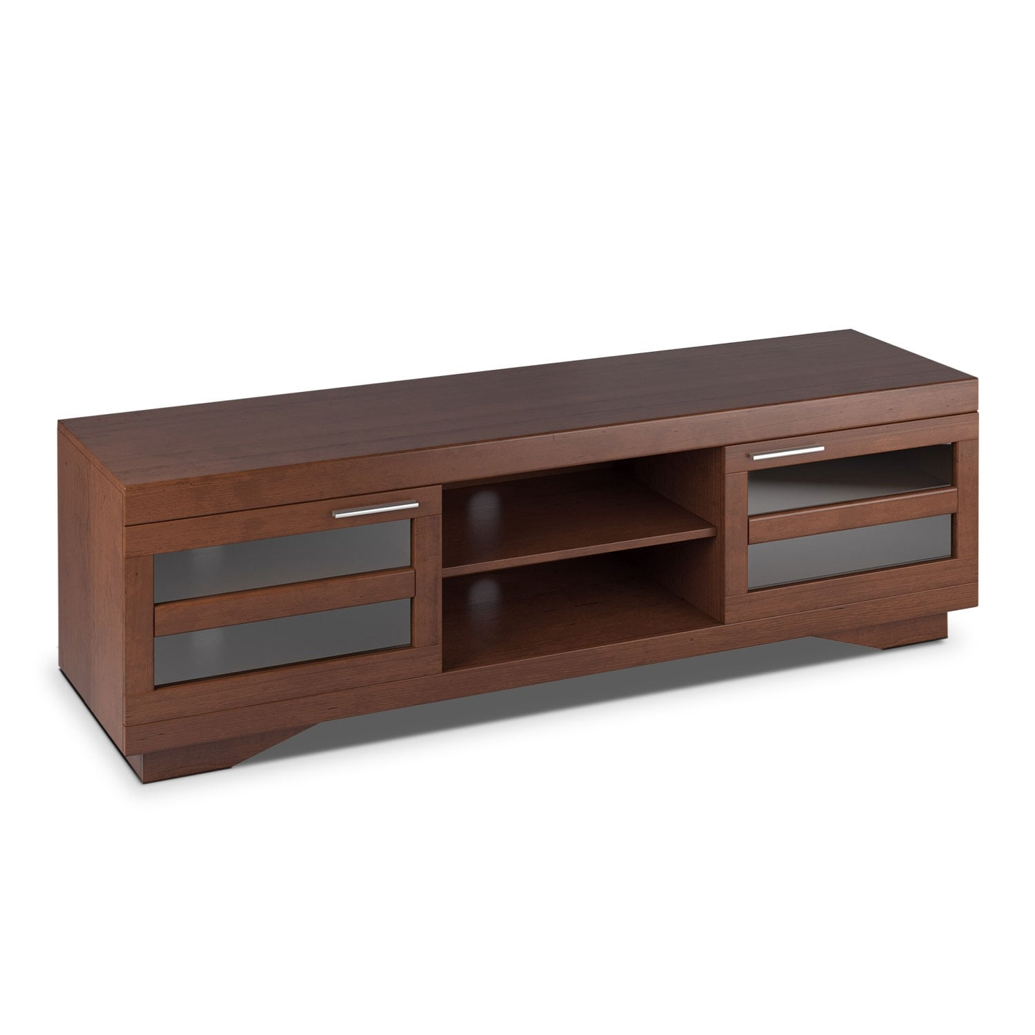 "Entertainment Furniture - Granville 66"" TV Stand -  Cinnamon"