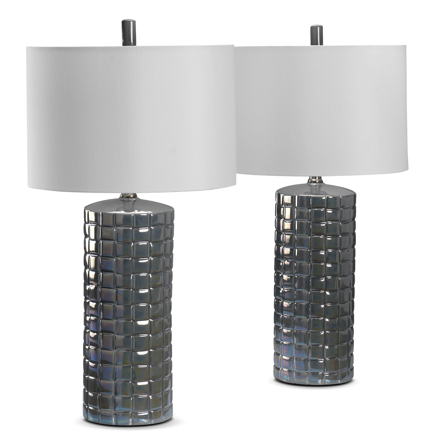 Home Accessories - Hailey 2-Pack Table Lamps