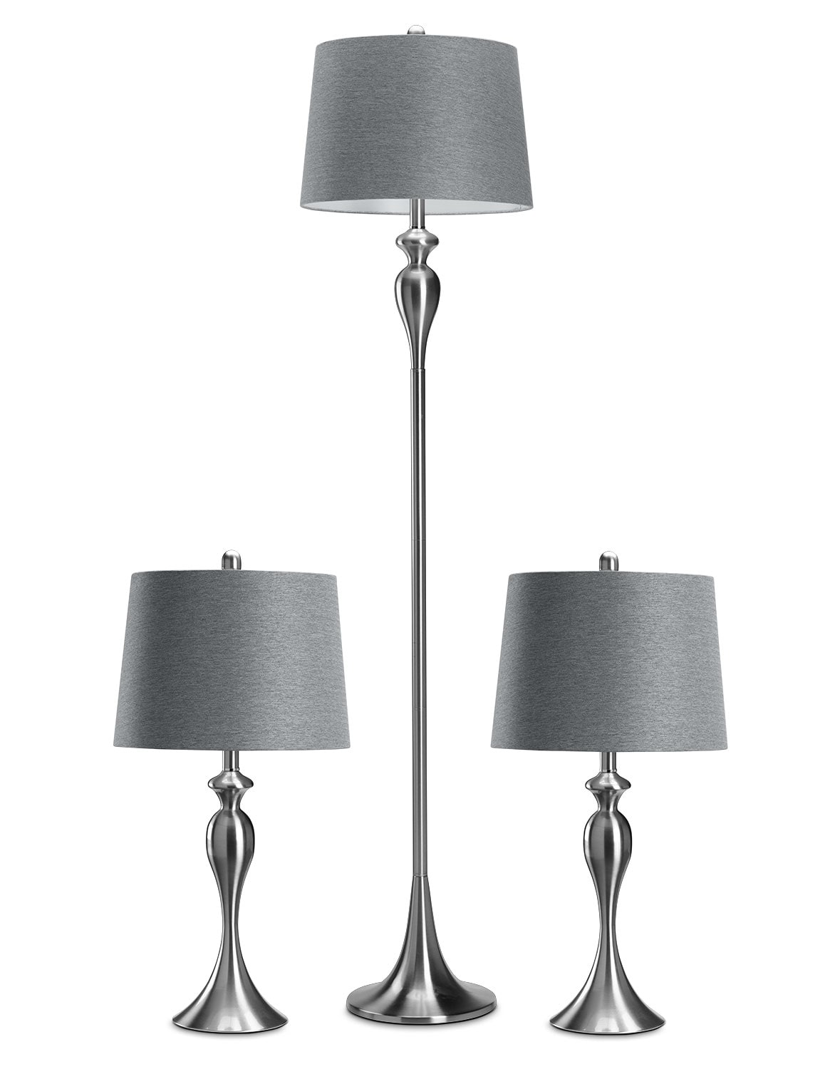 Home Accessories - Gwendolyn 3-Pack Lamps