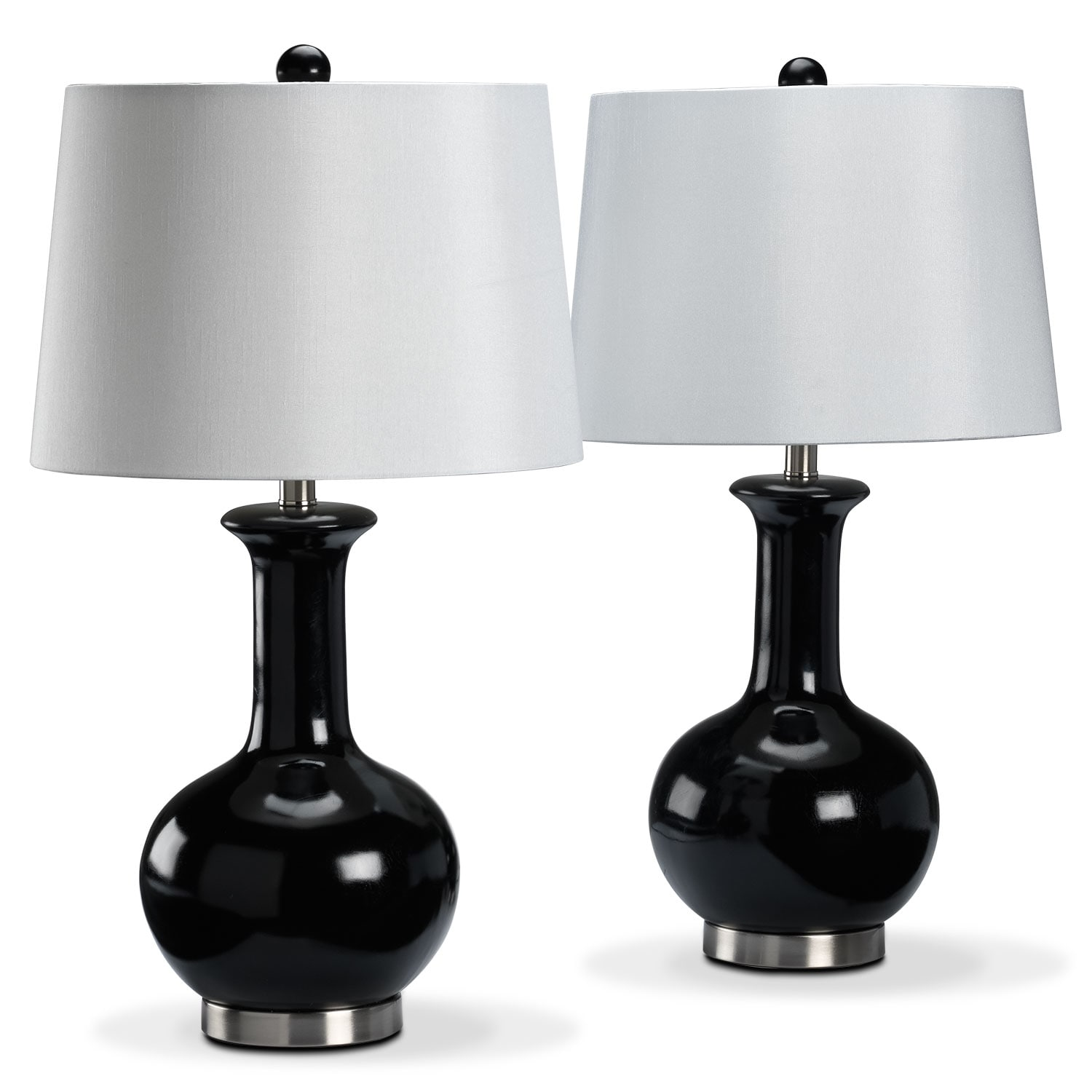 Accent and Occasional Furniture - Auden 2-Pack Table Lamps