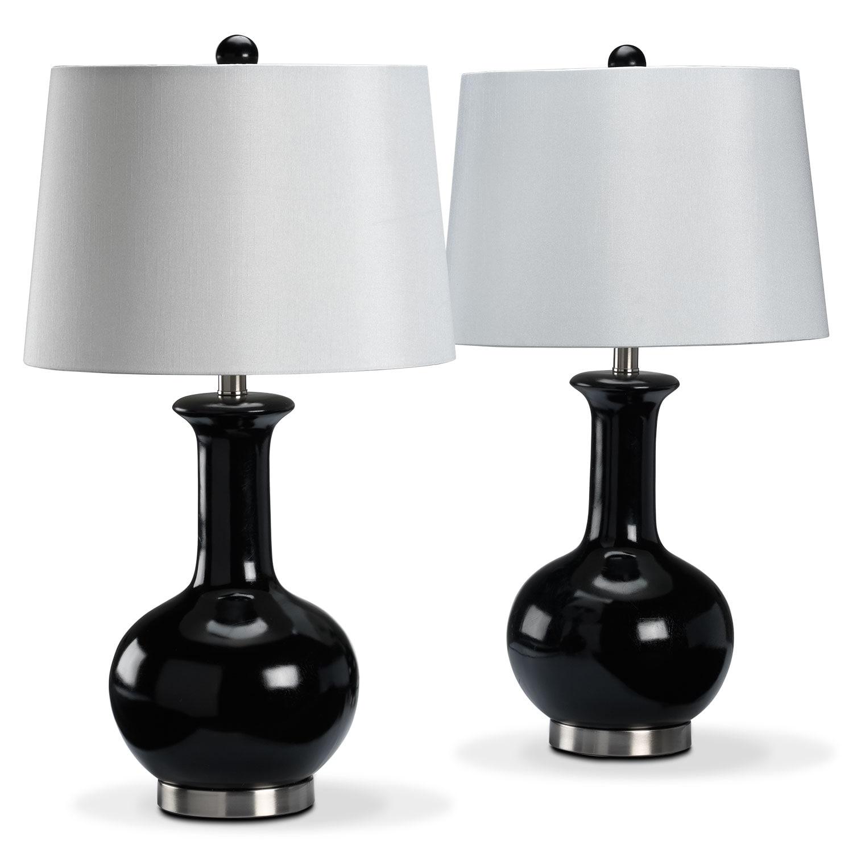 Décoratif et Occasionnel - Auden Ens. 2 lampes sur table