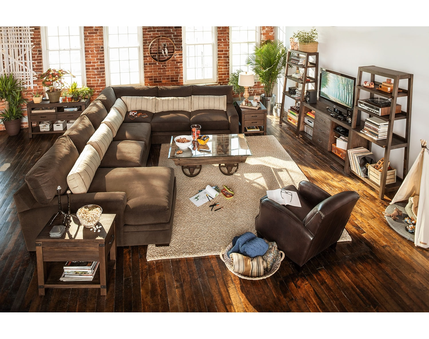 [The Ventura Teak Sectional Collection]