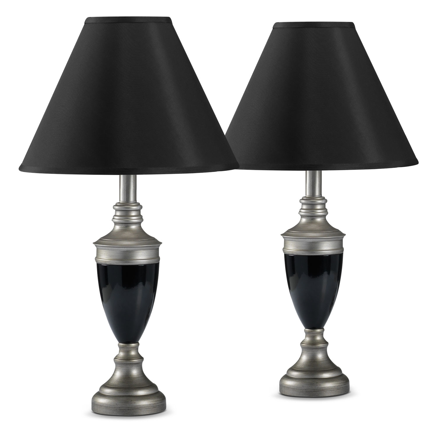 Accent and Occasional Furniture - Thayer 2-Pack Table Lamps