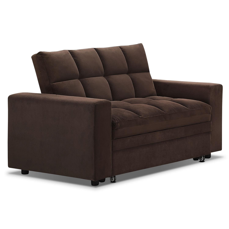 Fletcher Full Memory Foam Sleeper Sofa - Beige | Value ... |Sofa Bed Value City Furniture