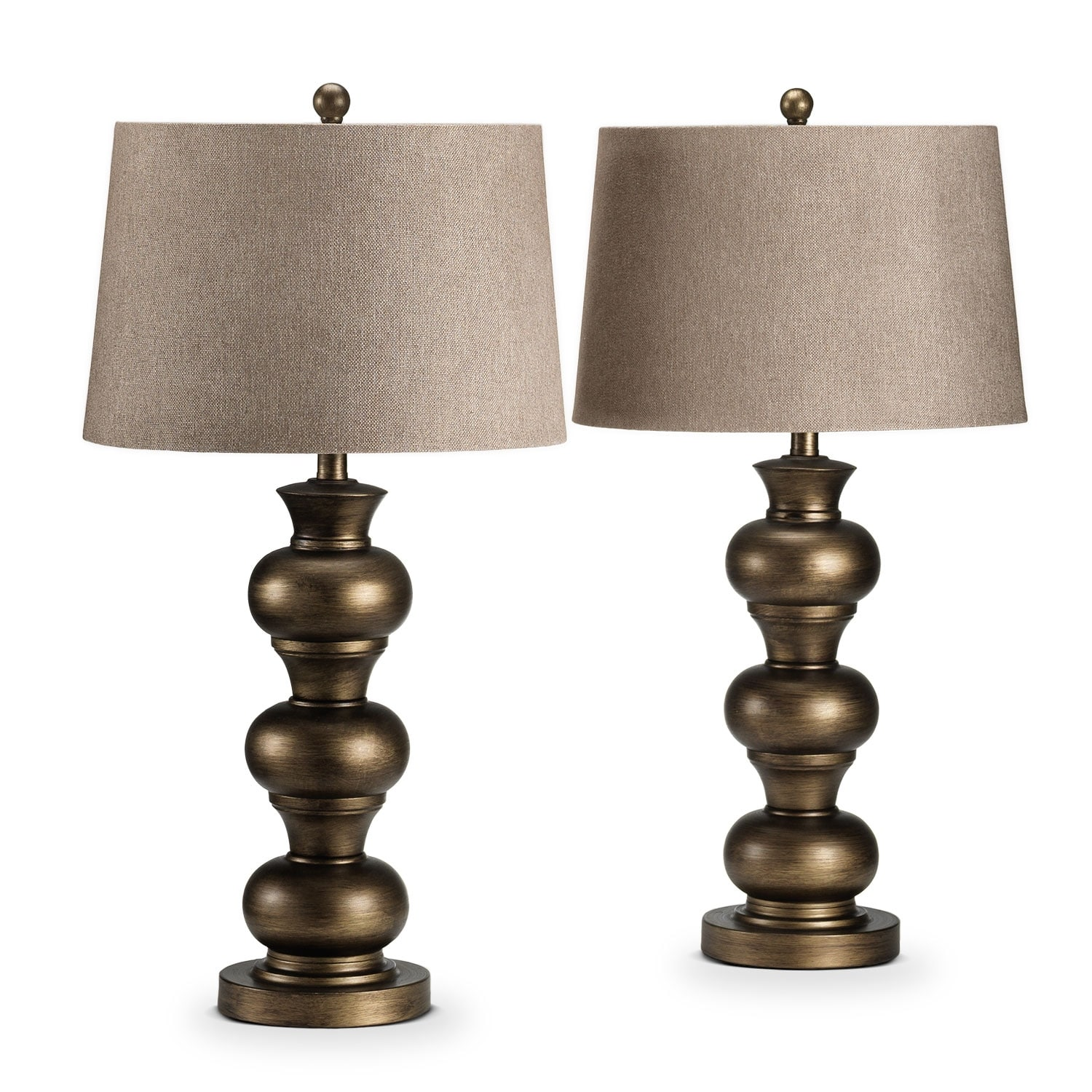 Accent and Occasional Furniture - Cuzco 2-Pack Table Lamps