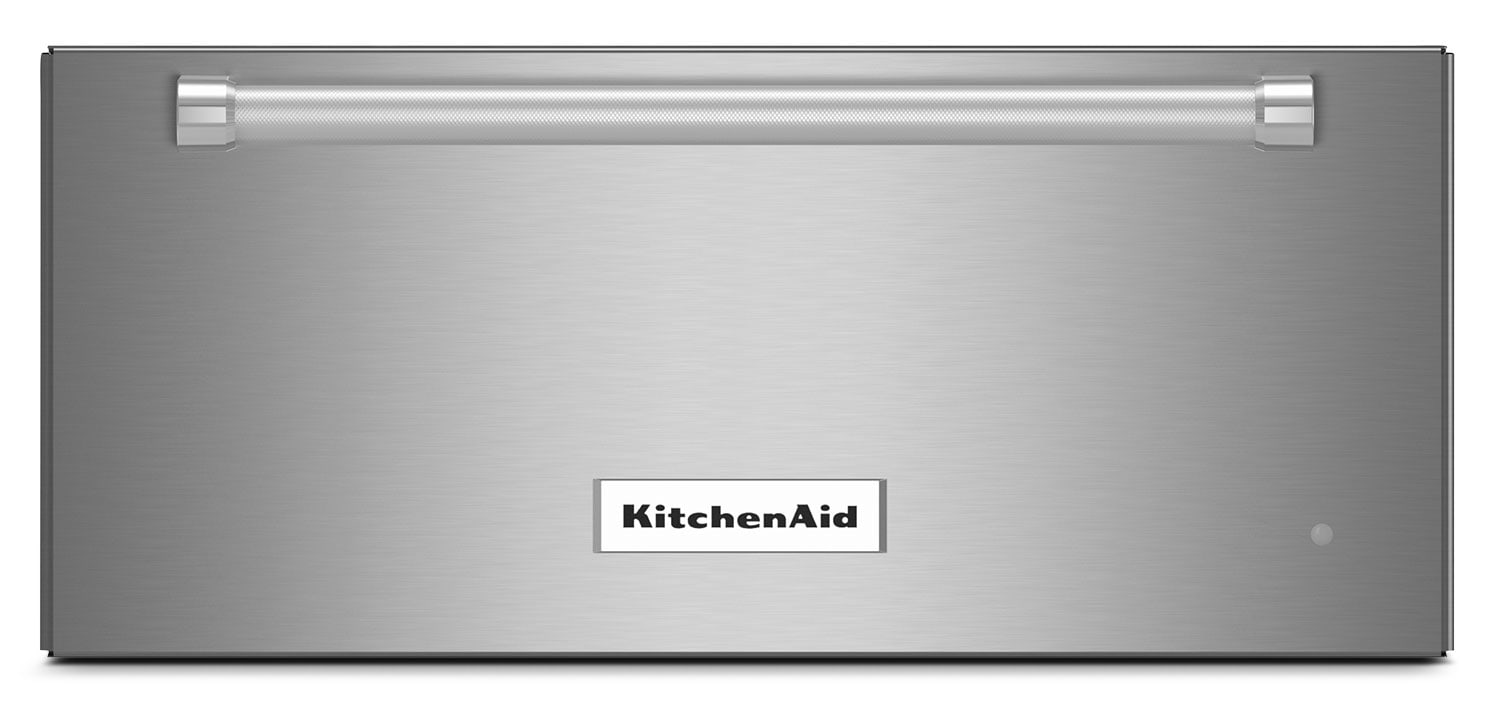 "Cooking Products - KitchenAid 24"" Slow Cook Warming Drawer – Stainless Steel"