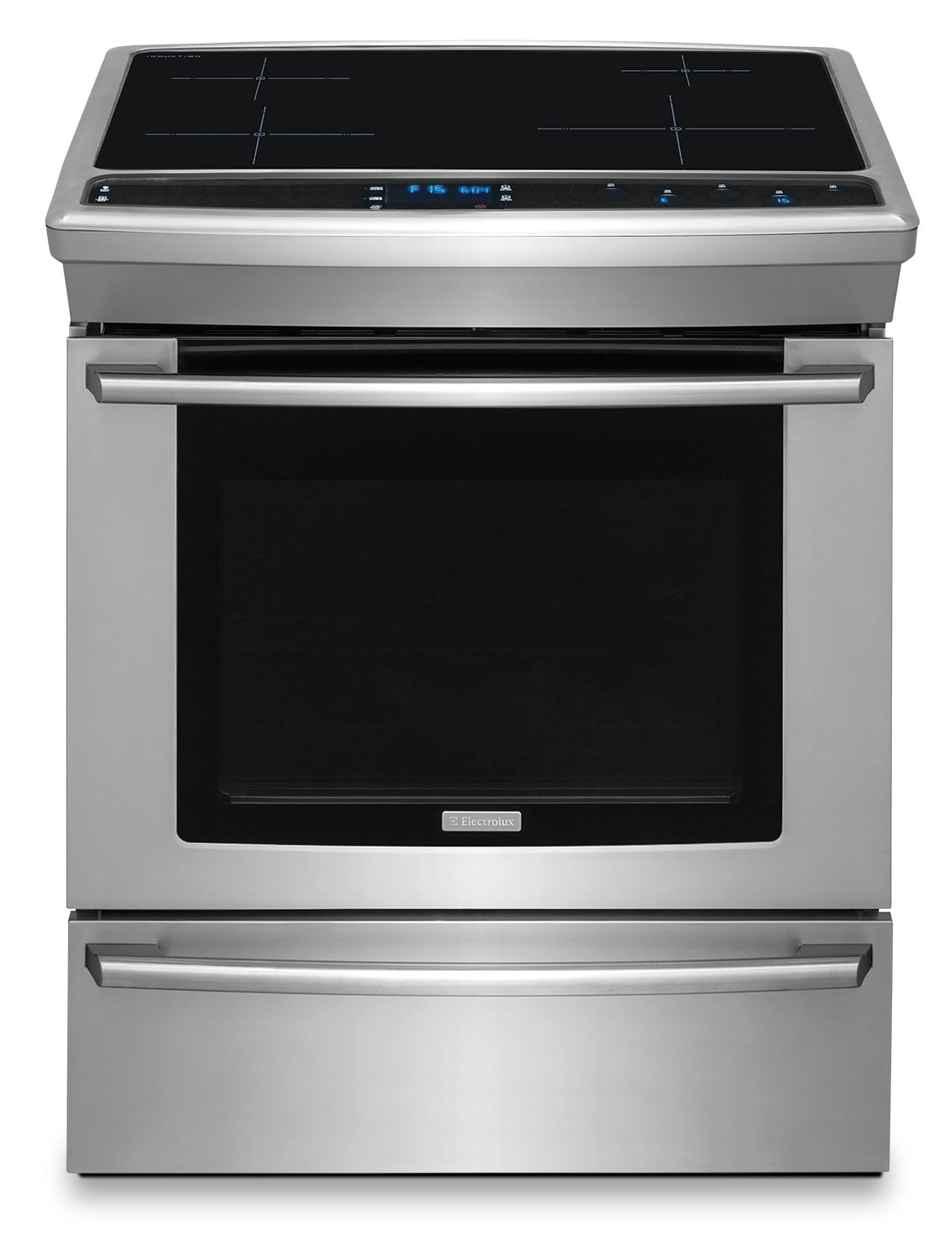 Cooking Products - Electrolux 4.6 Cu. Ft. Built-In Induction Convection Range – EW30IS8CRS